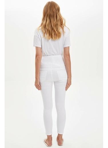 DeFacto Pantolon Beyaz